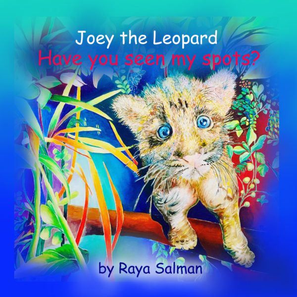 Joey the Leopard Cover Front